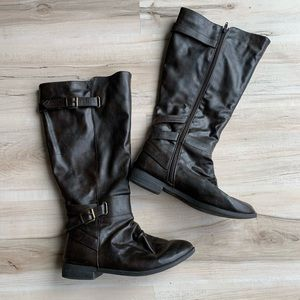Diba Trish Dark Brown Boot Size 7.5